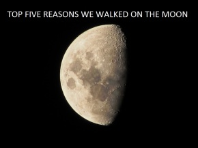 Was the moon walk a hoax?