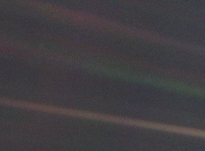 Pale Blue Dot ~ February 14, 1990